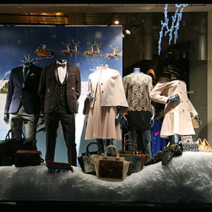 bf1940d34c2d71 Ted Baker Christmas Shop Windows London! by retail design blog