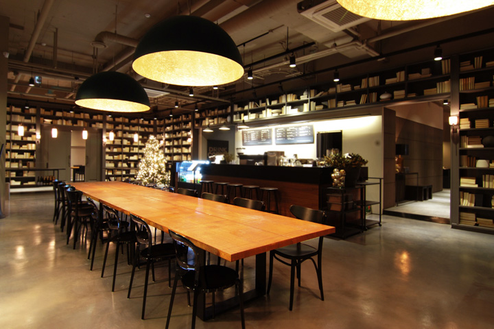 The lounge café by PANDA studio, Bundang – South Korea » Retail Design Blog