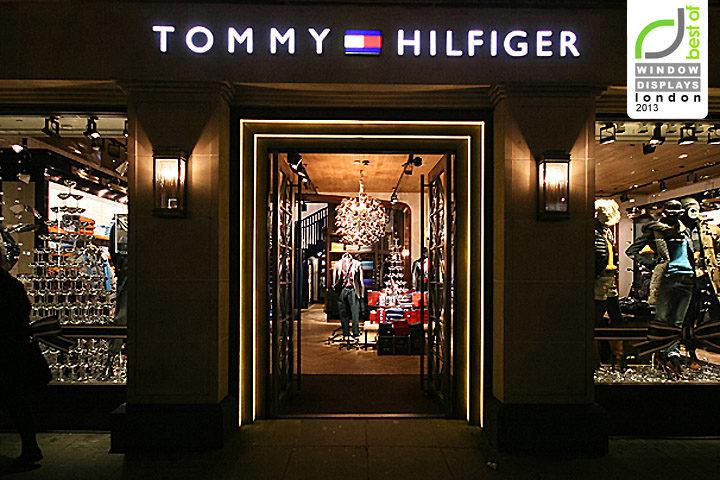 f6e9cb46 Tommy Hilfiger windows 2013 Winter, London