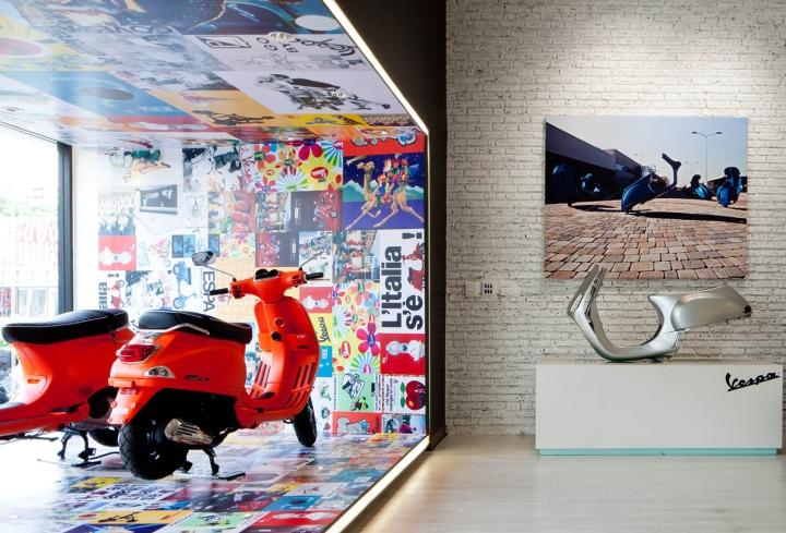 Vespa Gallery by Supermachine Studio, Bangkok – Thailand