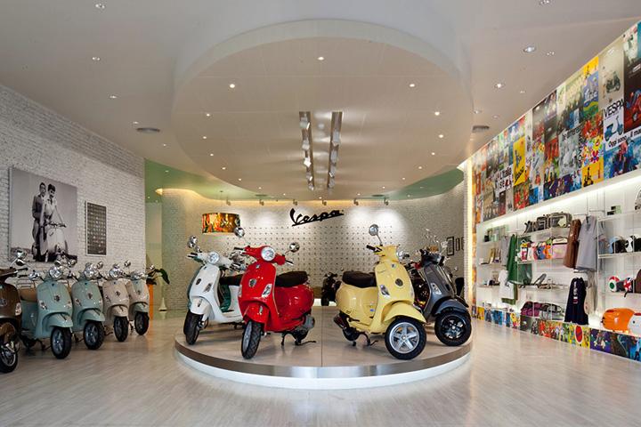 187 Vespa Gallery By Supermachine Studio Bangkok Thailand
