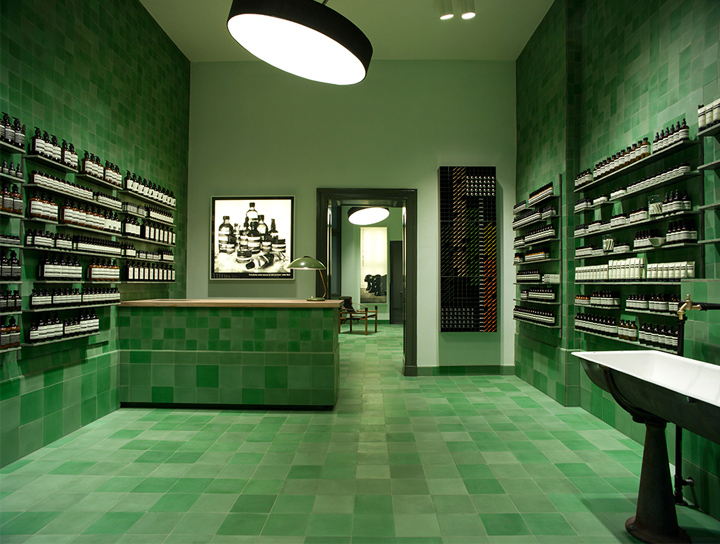 Aesop Signature Store By Weiss Heiten Berlin Germany