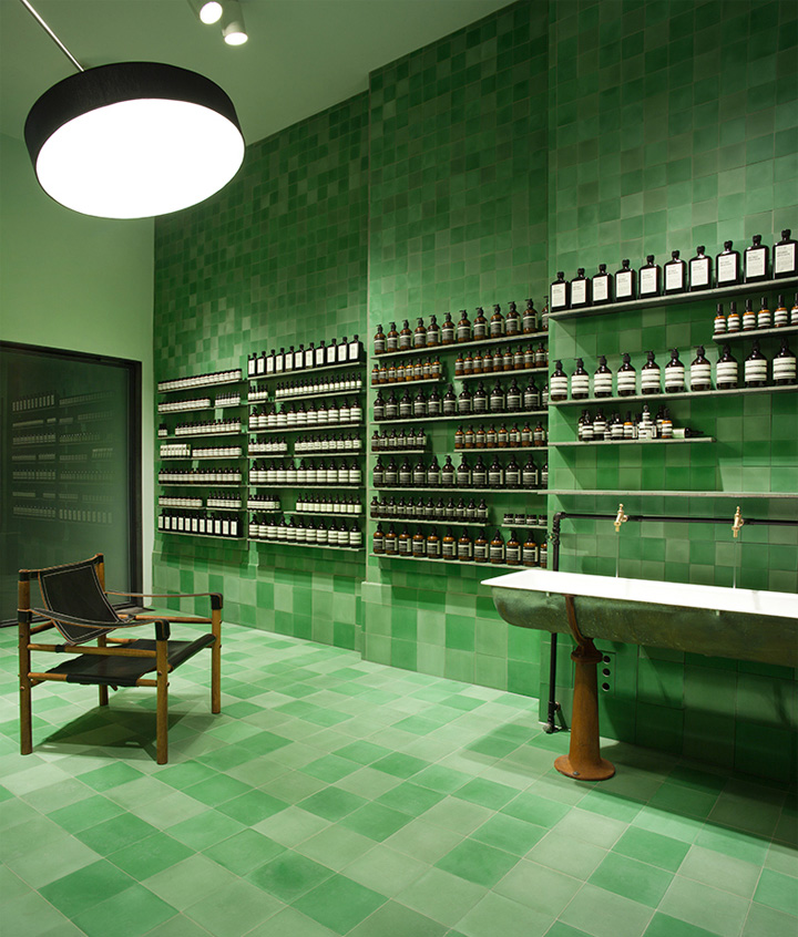 aesop signature store by weiss heiten berlin germany. Black Bedroom Furniture Sets. Home Design Ideas