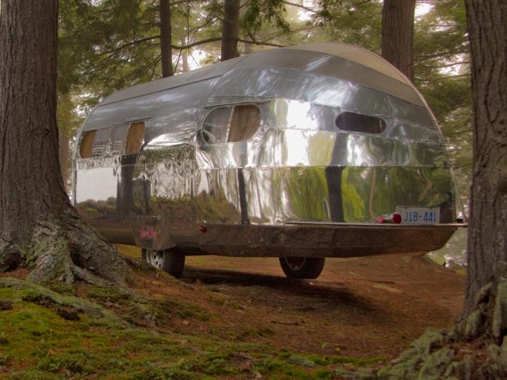 Bowlus Road Chief Compact Aluminum Trailer 187 Retail Design