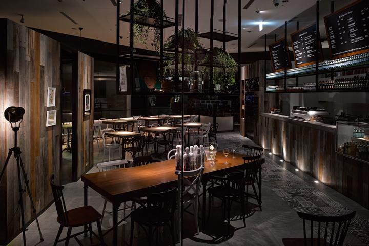 Café showroom by mw design taipei taiwan