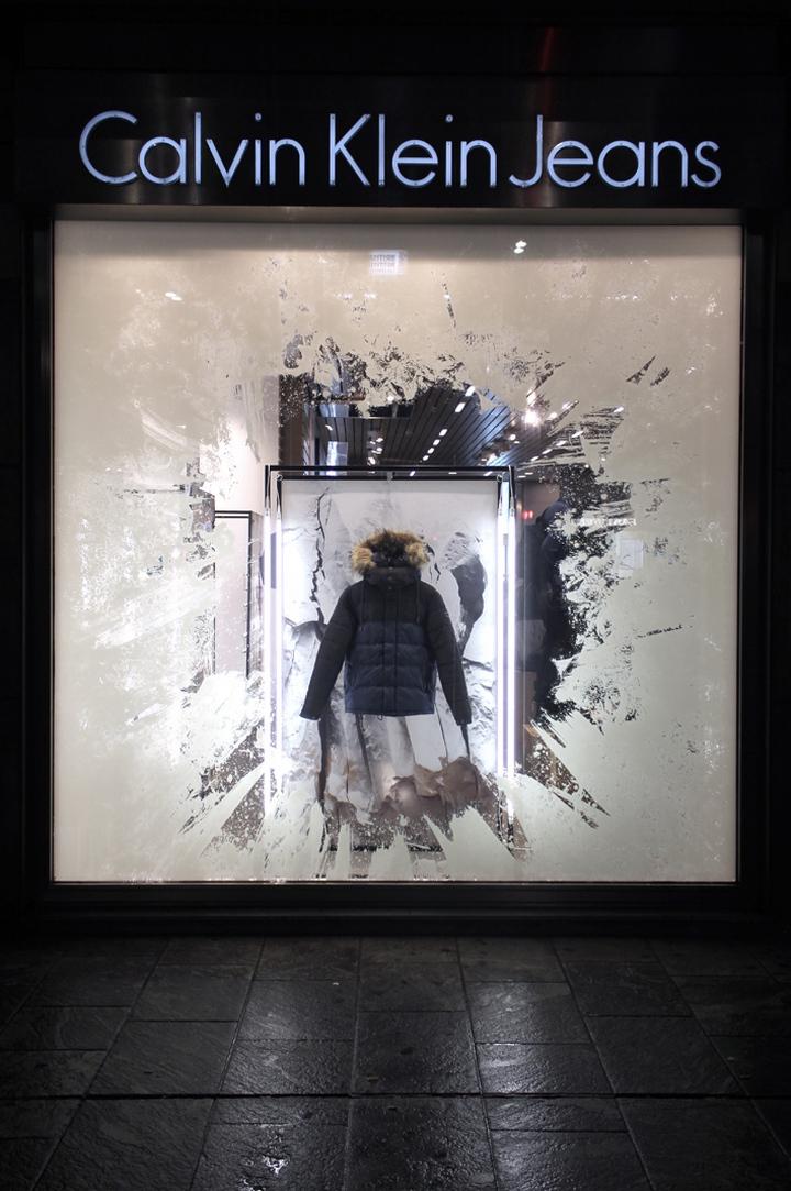 187 Calvin Klein Icebergs Windows By Studioxag Worldwide