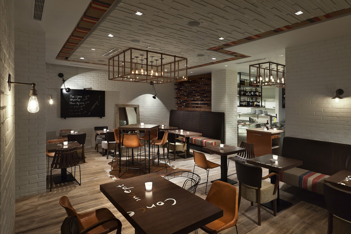 Concept restaurant by t design sofia bulgaria retail
