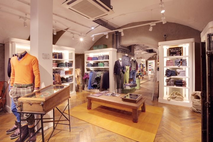 gant flagship store by prima munich germany retail. Black Bedroom Furniture Sets. Home Design Ideas