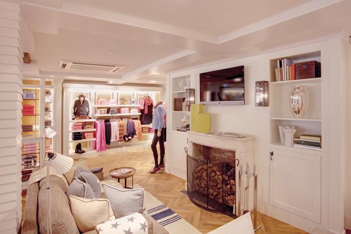 gant flagship store by prima munich germany. Black Bedroom Furniture Sets. Home Design Ideas