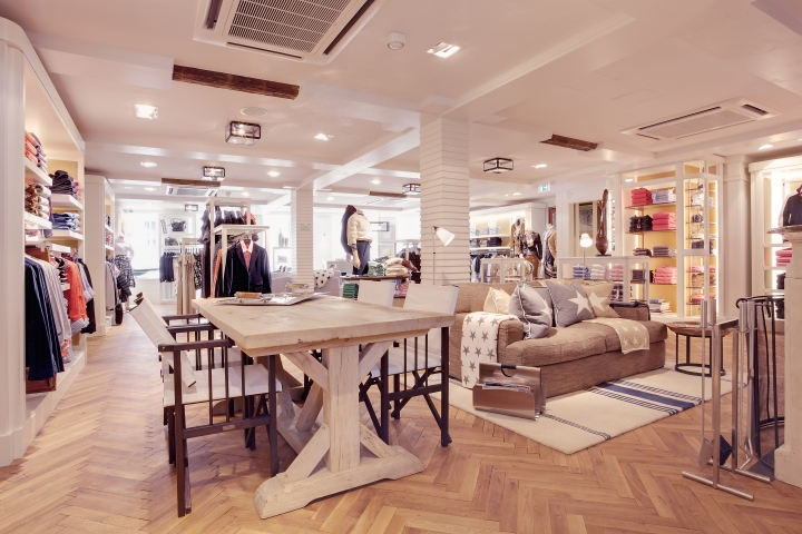 GANT flagship store by PRIMA, Munich - Germany \u00bb Retail Design Blog