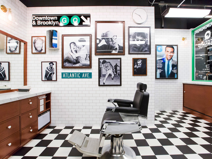 Barber Shop Designs Gq And Fellow Barber Barbershop Brooklyn New