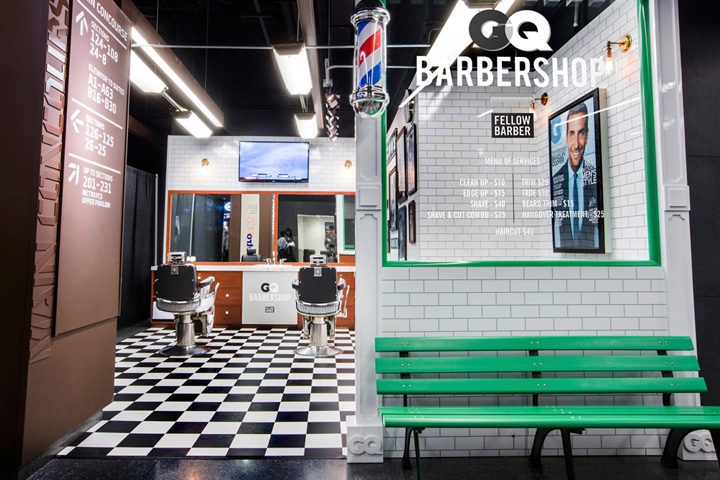 gq and fellow barber barbershop brooklyn new york - Barbershop Design Ideas