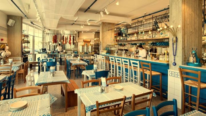 187 Greco Greek Restaurant By Dan Troim Tel Aviv Israel