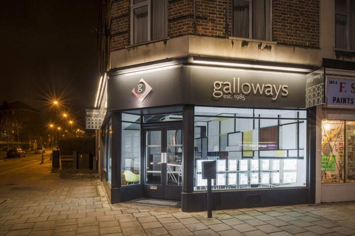 » Galloways' Estate Agents office by IYA Studio, London