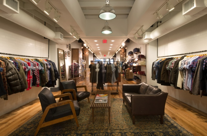 Gant store by Core Architecture, Washington, DC ? Retail Design Blog