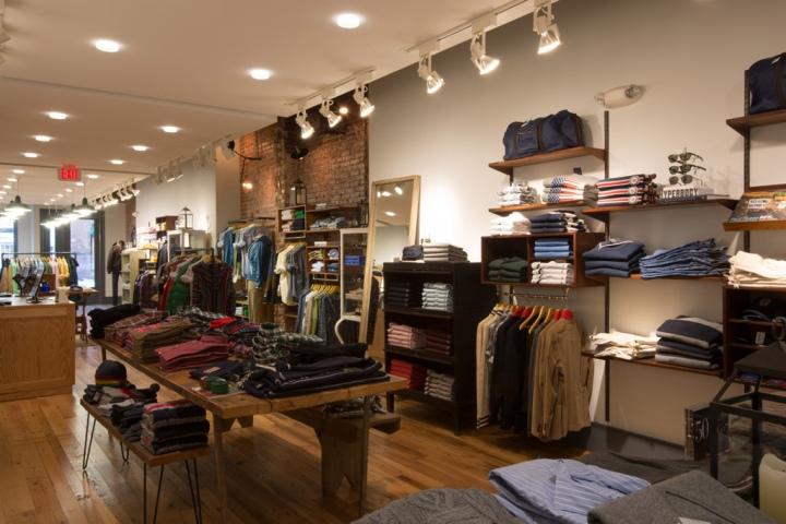 187 Gant Store By Core Architecture Washington Dc