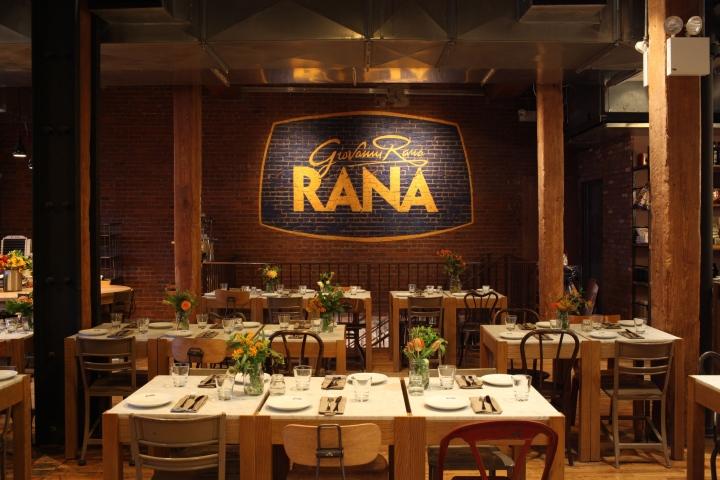Giovanni Rana Flagship Restaurant Branding By 45gradi New York