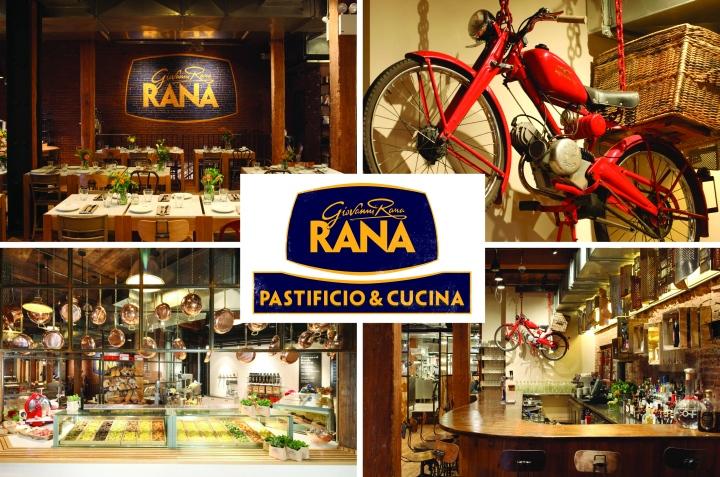 187 Giovanni Rana Flagship Restaurant Branding By 45gradi