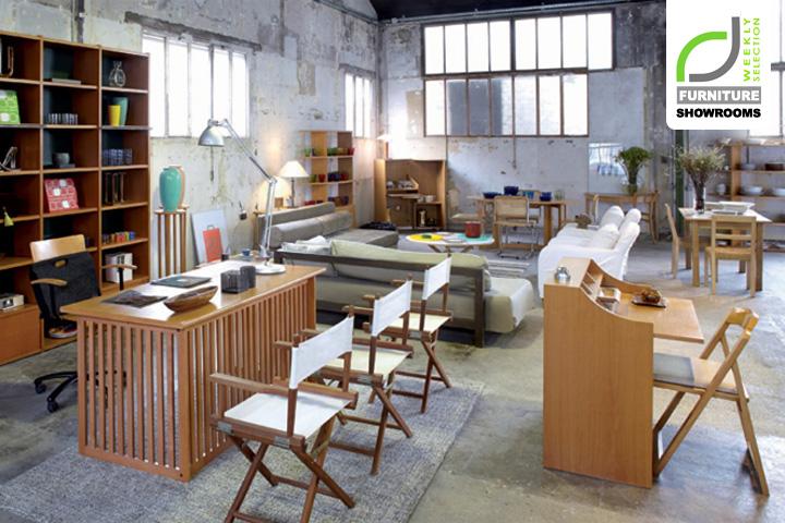 Furniture showrooms habitat 1964 store paris france for Designer furniture stores