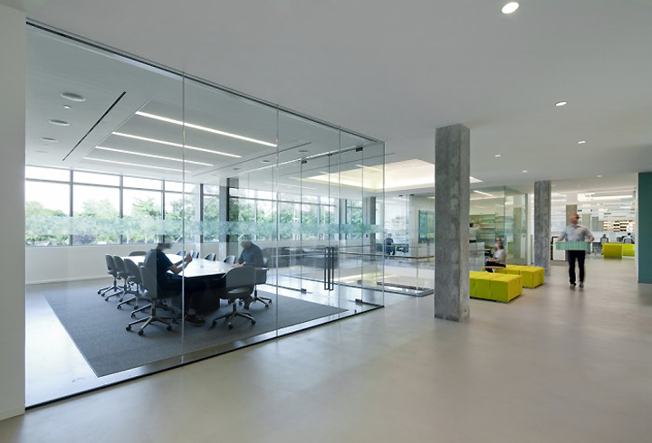 Hain celestial headquarters by architecture information for Office interior design nyc