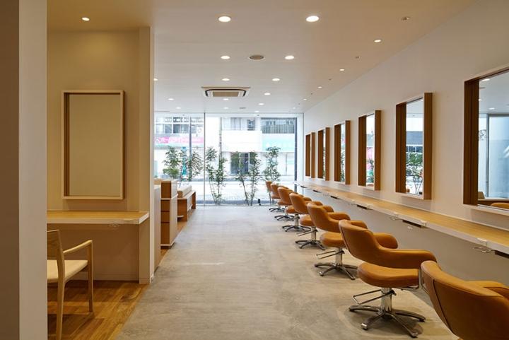 187 Hair Do Hair Salon By Ryo Matsui Architects Chiba Japan