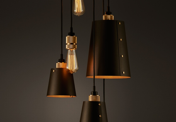 Hooked lighting fixtures collection by buster punch for A lamp and fixture