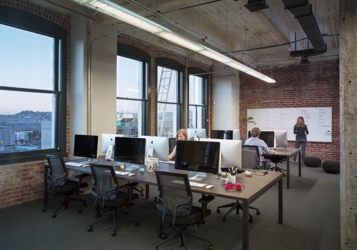 Indiegogo office by asd san francisco california for Office design san francisco