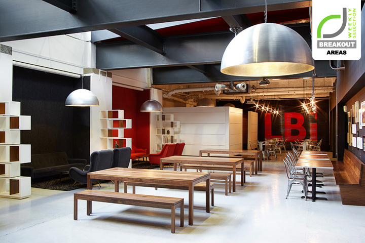 Breakout areas lbi event space by jackdaw studio retail for Office design events