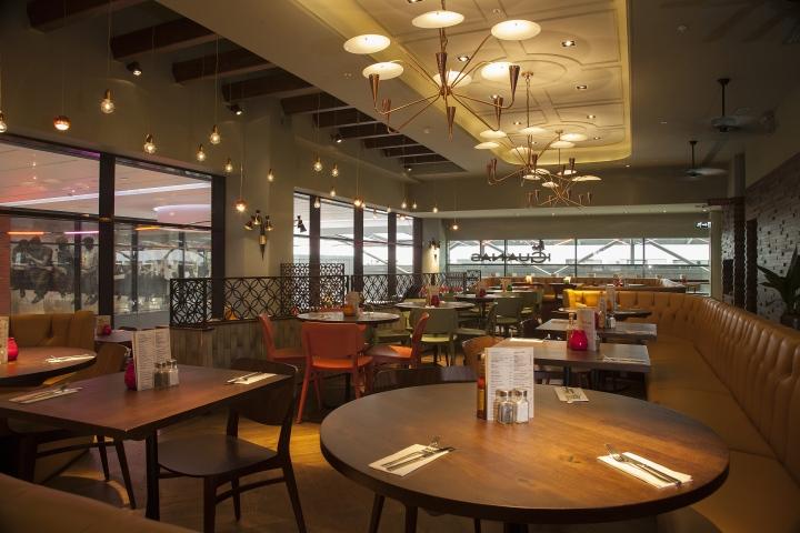 Las iguanas restaurant by b3 designers london retail for Restaurant design london