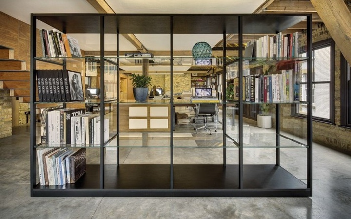 Mad agency office by dos architects london retail for Retail design companies london