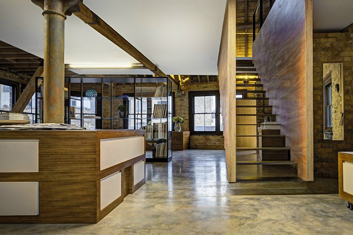 Mad agency office by dos architects london retail for Design agency london