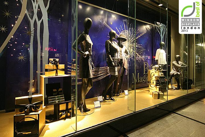 Marks spencer windows 2013 winter london retail for Window design visual merchandising