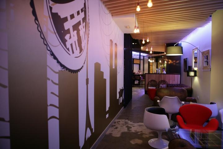 M n gastro bar by sanserif creatius valencia spain for Design hotel valencia spain