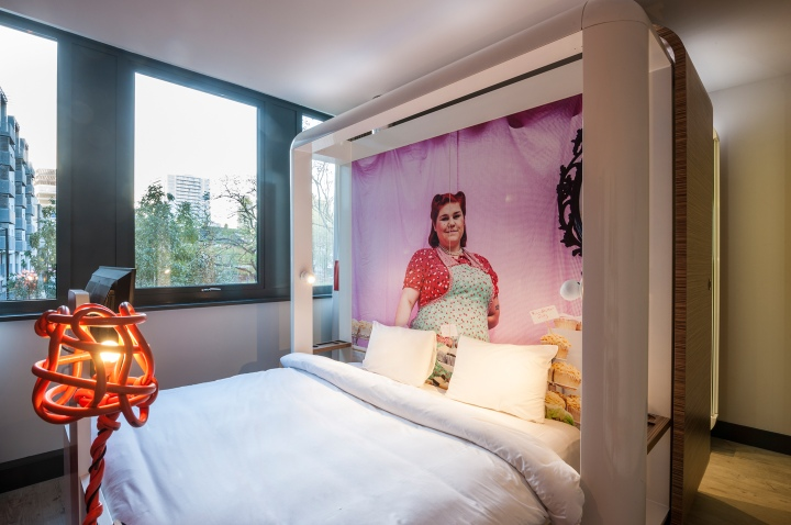 qbic hotel by blacksheep london retail design blog