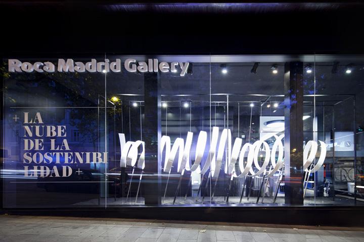 roca madrid gallery by culdesactm madrid u spain