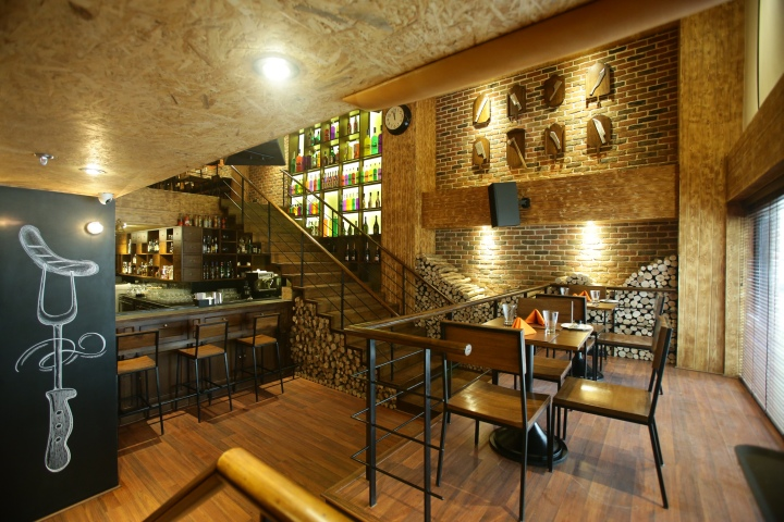 SMOKEYS BBQ GRILL by Livin Colors Design New Delhi India SMOKEYS BBQ & GRILL by Livin Colors Design, New Delhi   India