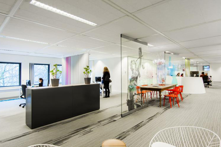 Ssr office by ideal projects utrecht netherlands for Ideal office design