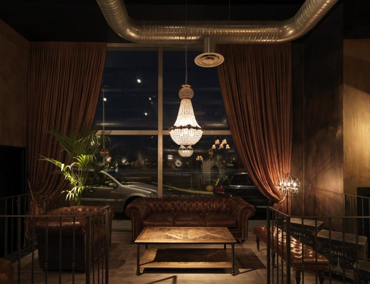 Sagamor Lounge Bar Restaurant By Andrea Langhi Bergamo Italy