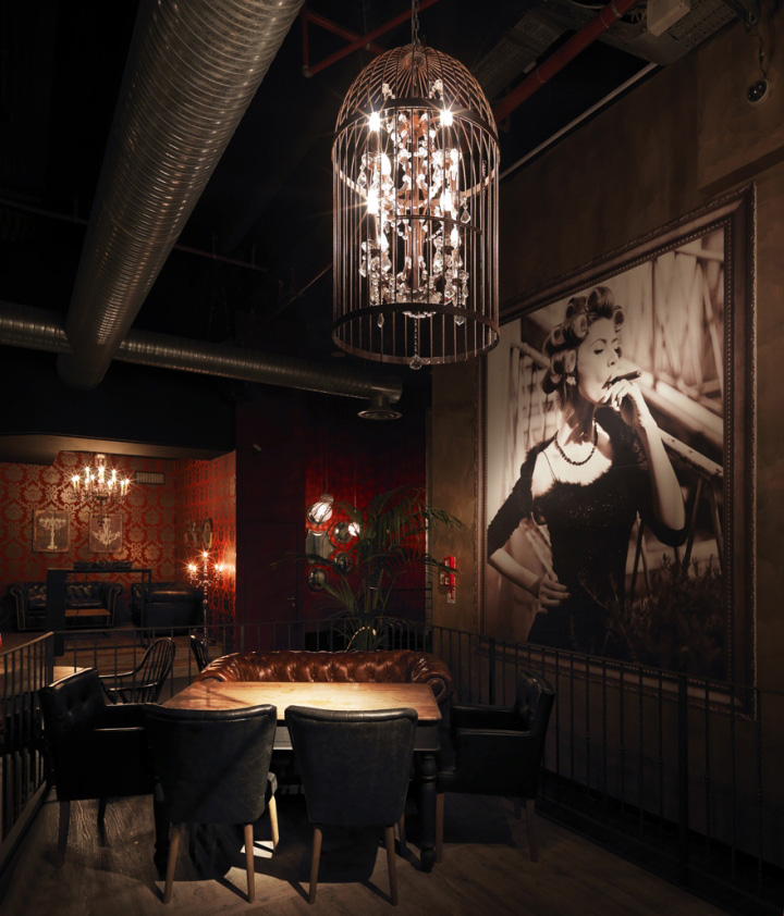 Sagamor lounge bar restaurant by andrea langhi bergamo italy retail design blog for Decoration lounge bar nimes