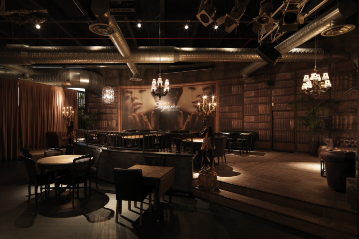 Attractive Sagamor Lounge Bar U0026 Restaurant By Andrea Langhi, Bergamo U2013 Italy