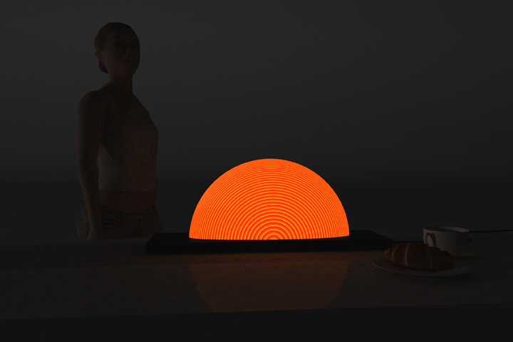Sunrise lamp by Natalia Rumyantseva 02 Sunrise lamp by Natalia Rumyantseva
