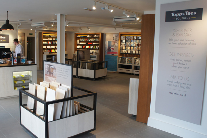 Topps Tiles boutique by True Story, Walton-on-Thames – UK » Retail ...