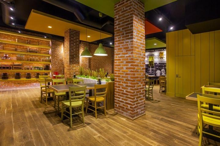 Trops food fast restaurant by t design sofia