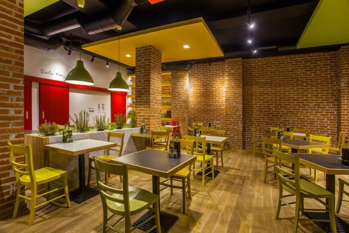 Trops food fast restaurant by t design sofia