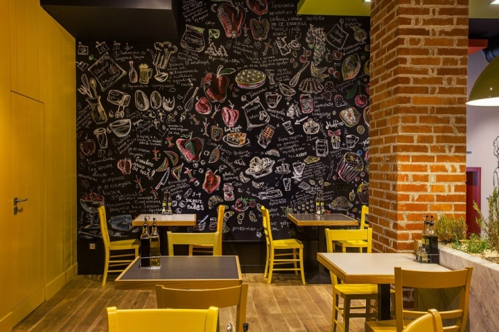 Trops.food fast food restaurant by T-Design, Sofia ...