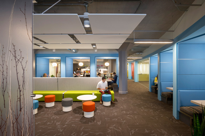 Twitter global headquarters by ia interior architects san francisco retail design blog Interior design companies in san francisco
