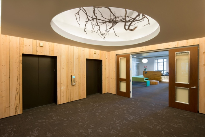 twitter office in san francisco. twitteru0027s new headquarters is the first workspace designed specifically for company with intent to reflect and nurture twitter culture office in san francisco