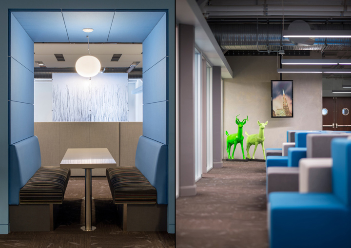 Twitter global headquarters by ia interior architects san francisco retail design blog