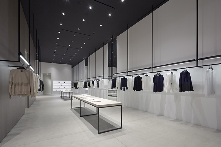 Theory shop by nendo los angeles california retail for Minimalist architecture theory