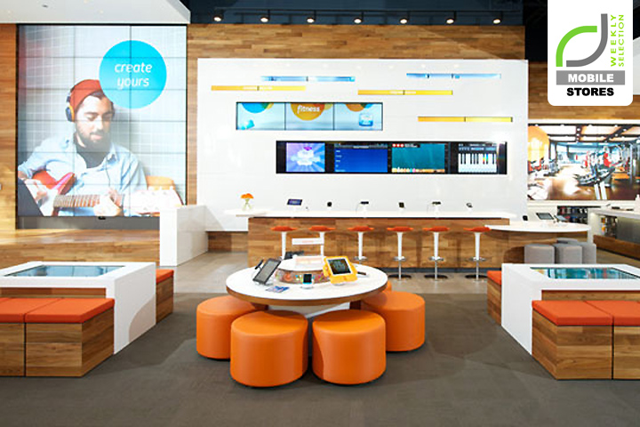 Mobile Stores At T Flagship Store Chicago Illinois